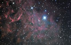 IC405, The Flaming Star Nebula
