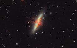 M82 Cigar Galaxy in Uma